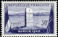 12ème anniversaire de la bataille de Narvik (Norvège)