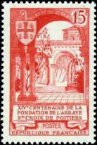 14ème centenaire de l'abbaye Sainte-Croix de Poitiers