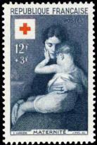 Maternité par Eugène Carrière (1849-1906)