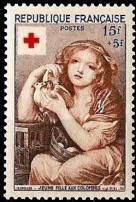 Jeune fille aux colombes
