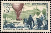 Journee du timbre et 85em anniversaire de la poste aerienne