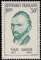 Vincent van Gogh peintre néerlandais (autoportrait)