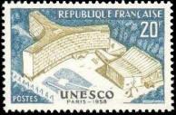 Inauguration du palais de l'U.N.E.S.C.O