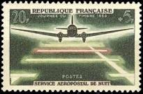 Journée du timbre et 20 ème Anniversaire du service Aeropostal de nuit