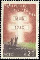 20ème anniversaire de l appel du général de Gaulle