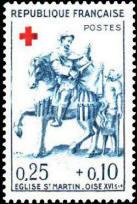 Croix-Rouge française. Bois sculpté XVIe s.