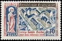5ème centenaire du collège Saint-Barbe (1460-1960), à Paris