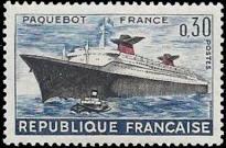 Premier voyage dy paquebot France