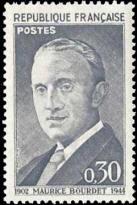 60ème anniversaire de la naissance du journalisme Maurice Bourdet (1902-1944)