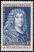 François VI prince de Marcillac duc de La Rochefoucould (1613-1680) moraliste tricentenaire de la publication de ses