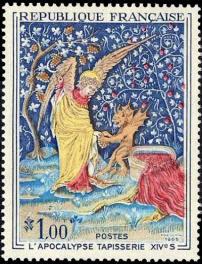 L'Apocalypse (tapisserie du XIV siècle à Angers)