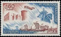 Le chateau de Falaise et la statue de Guillaume le Conquerant