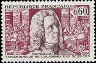Bernard le Bovier de Fontenelle (1657-1757) ecrivain. Secretaire perpetuel de l
