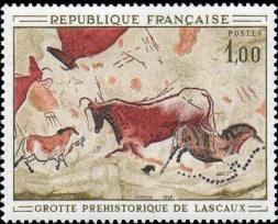 Peinture rupestres de la grotte de Lascaux à Montignac (Dordogne)