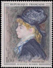 Modèle d'Auguste Renoir (1841-1919)