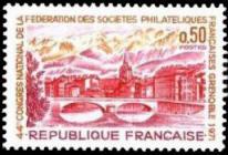 44ème congrès natinal des sociétés philatéliques françaises à Grenoble