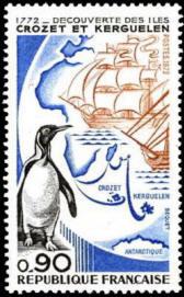 200ème anniversaire de la découverte de iles Crozet et Kerguelen