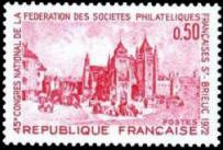 45eme congres national de la federation des societes philateliques francaises a Saint-Brieuc