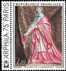 Cardinal de Richelieu tableau de Philippe de Champaigne (1602-1674)