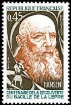 Centenaire de la découverte du bacile de la lèpre par Hansen (1841-1912)