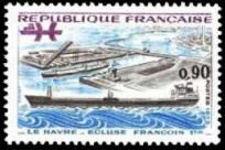 Le Havre, écluse François Ier