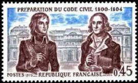 Bonaparte, Jean Portalis préparation du code civil 1800-1804