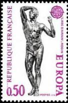 Europa. Sculptures. L'âge d'Airain de Rodin