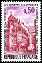 47ème congrès national de la fédération des sociétés philatéliques françaises à Colmar