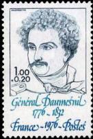 Timbre g n ral daumesnil 1776 1832 yt n 1896 1976 - La poste daumesnil ...