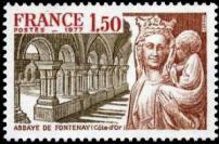 Abbaye de Fontenay (XII siecle) Cote d
