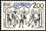 Danses traditionnelles. La Sardane