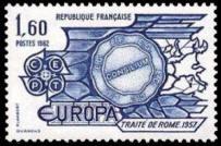 Traité de Rome en 1957