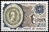 Traité de Verdun en 843
