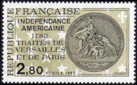 Indépendance américaine 1783 traité de Versailles et de Paris