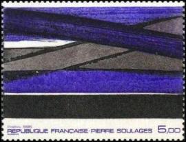 Oeuvre de Pierre Soulage