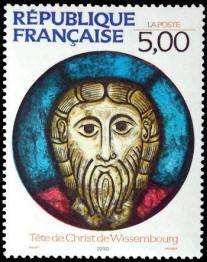 Tête de Christ de Wissembourg