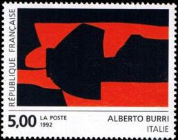 Création de la poste : d'Alberto Burri (Italie)