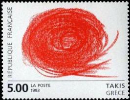 Oeuvre originale de Takis (Grèce)