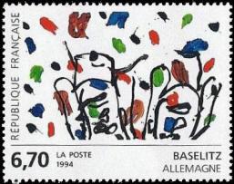 Oeuvre originale de Georg Baselitz