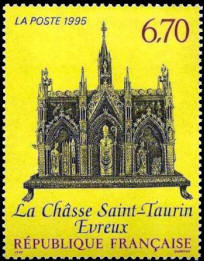 La châsse de Saint-Taurin à Evreux