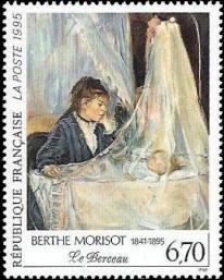 Le berceau : oeuvre de Berthe Morisot (1841-1895)