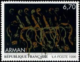 Oeuvre originale d'Arman