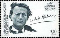 20 ème anniversaire de la mort d'André Malraux