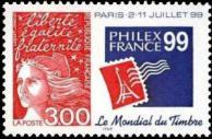 PhilexFrance 99 exposition philatélique mondiale à Paris du 2 au 11 juillet 1999