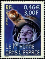 Le 1er homme dans l'espace