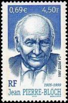 Hommage à Jean Pierre-Bloch