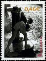Le siècle au fil du timbre : Vie quotidienne
