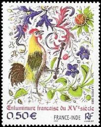 Enluminure française du XVe siècle FRANCE-INDE