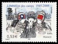 60ème anniversaire de la libération des camps