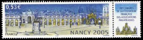 78ème congrès de la fédération française des associations philatéliques à Nancy 2005